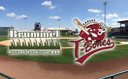 Brummel Lawn is now the Official Lawn Care Provider of the Kansas City T-Bones