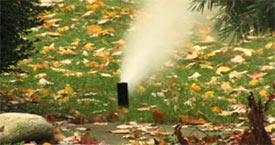 Irrigation Winterize